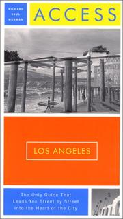 Cover of: Access Los Angeles, 10th Edition (Access Los Angeles) | Richard Saul Wurman