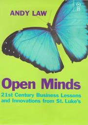 Cover of: Open minds | Andy Law