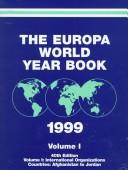 Cover of: Europa World Year Book 1999 | 40th Ed