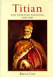 Cover of: Titian and Venetian painting, 1450-1590 | Bruce Cole