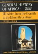 Cover of: General History of Africa by I. Hrbek