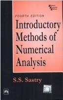 Cover of: Introductory Methods of Numerical Analysis | S.S. Sastry
