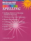 Cover of: Spelling | McGraw-Hill