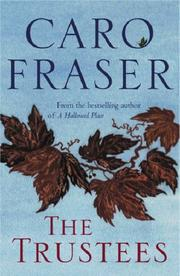 Cover of: The trustees | Caro Fraser