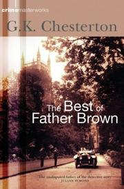 Cover of: The Best of Father Brown | G. K. Chesterton