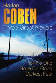 Cover of: Three Great Novels | Harlan Coben