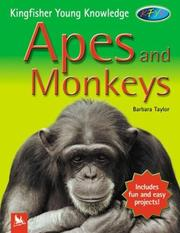 Cover of: Apes and Monkeys by Barbara Taylor