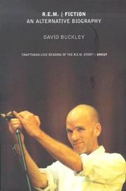 Cover of: R.E.M.  Fiction | David Buckley