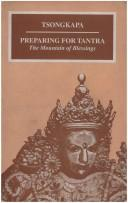 Cover of: Preparing for Tantra | Tsongkhapa
