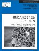 Cover of: Endangered Species | Gloria Cooksey