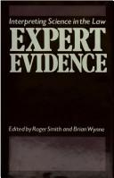 Cover of: Expert Evidence | Roger Smith