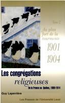 Cover of: Congregations Religieuses | Guy Laperriere