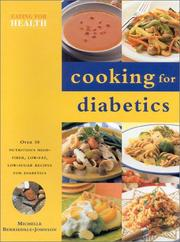 Cover of: Cooking for Diabetics by Michelle Berriedale-Johnson