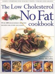 Cover of: Low Cholesterol No Fat Cookbook | Anne Sheasby