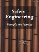Cover of: Safety Engineering by Frank R. Spellman