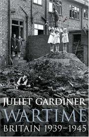 Cover of: Wartime | Juliet Gardiner