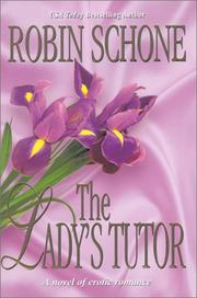 Cover of: The Lady's Tutor by Robin Schone