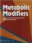 Cover of: Metabolic Modifiers by National Research Council.