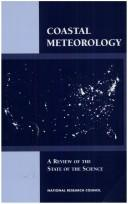 Cover of: Coastal Meteorology | National Research Council.