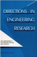 Cover of: Directions in Engineering Research by National Research Council.