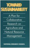 Cover of: Toward Sustainability by National Research Council.