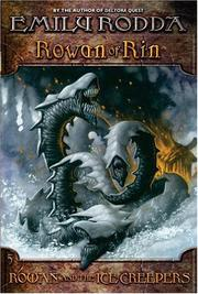 Rowan and the Ice Creepers (Rowan of Rin #5)