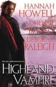 Cover of: Highland Vampire by Hannah Howell, Adrienne Basso, Deborah Raleigh