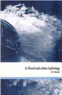 Cover of: RURAL AND URBAN HYDROLOGY | M.G MANSELL