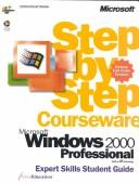 Cover of: Microsoft  Windows  2000 Professional Step by Step Courseware Expert Skills Class Pack | ActiveEducation