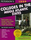 Cover of: Peterson's Colleges in the Middle Atlantic States 1999 by Petersons