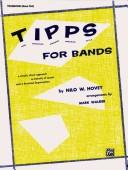 Cover of: T-i-p-p-s for Band for Trombone | Nilo Hovey