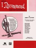 Cover of: I Recommend Cornet | James Ployhar
