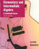 Cover of: Elementary And Intermediate Algebra And Student Study Guide Passkey | Ron Larson