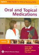 Cover of: Oral And Topical Medications | Priscilla LeMone