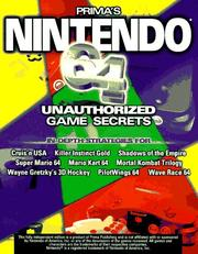 Cover of: Nintendo 64 | Nick Roberts
