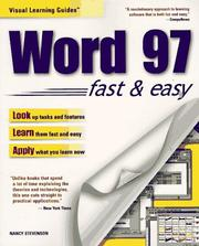 Cover of: Word 97 by Nancy Muir