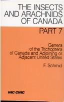 Cover of: Genera of the Trichoptera of Canada and Adjoining or Adjacent United States | F. Schmid