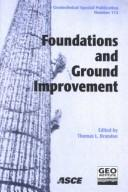 Cover of: Foundations and Ground Improvement: Proceedings of a Specialty Conference | Thomas L. Brandon