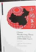Cover of: China Marketing Data and Statistics | Euromonitor PLC