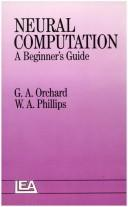 Cover of: NEURAL COMPUTATION PR | ORCHARD