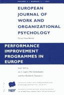 Cover of: Performance Improvement Programs in Europe by Jen A. Algera