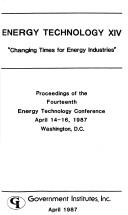 Cover of: Energy Technology XIV | Richard F. Hill