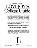 Cover of: Lovejoy's College Guide | Lovejoy