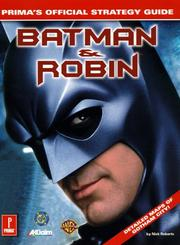 Cover of: Batman & Robin | Roberts, Nick.