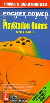 Cover of: PlayStation power pocket guide | Roberts, Nick.