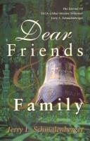 Cover of: Dear Friends : by Jerry L. Schmalenberger
