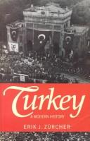 Cover of: Turkey | Erik Jan Zurcher