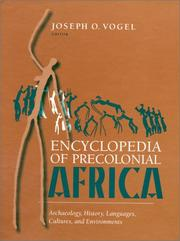 Cover of: Encyclopedia of Precolonial Africa by Joseph O. Vogel