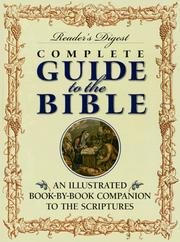 Cover of: Reader's Digest Complete Guide to the Bible | Reader's Digest