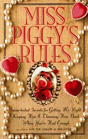 Cover of: Miss Piggy's Rules by Jim Lewis